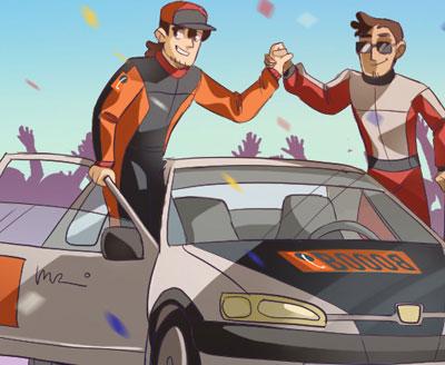 Olio motore per auto sportive