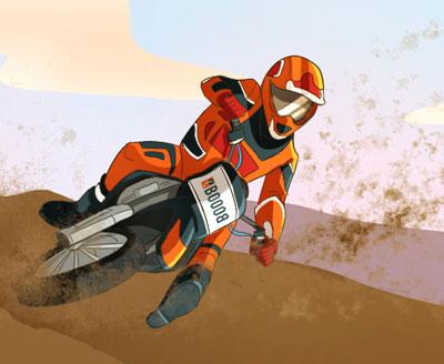 Olio motore per moto fuoristrada