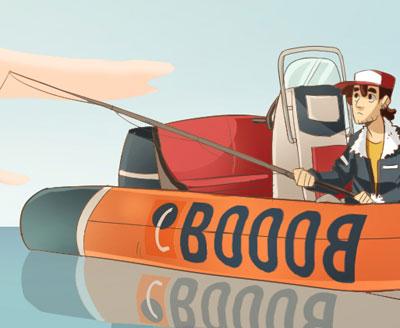 Olio motore per barche