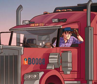 Olio per camion e tir