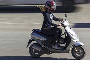 Olio motore per scooter