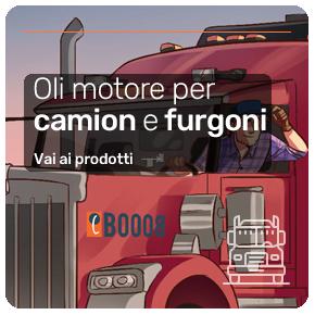 Oli motore per auto e furgoni