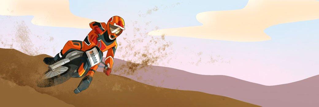 Olio per motocross enduro e supermotard