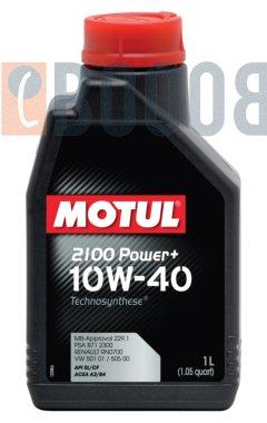 MOTUL 2100 POWER+ 10W40 FLACONE DA 1/LT