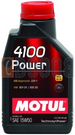 MOTUL 4100 POWER 15W50 FLACONE DA 1/LT