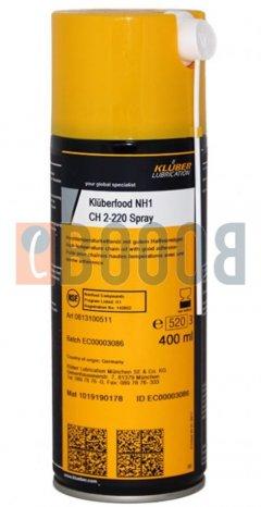 KLUBER KLUBERFOOD NH1 4-220 N SPRAY BOMBOLETTA DA 400/ML