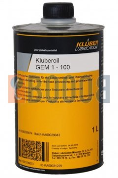 KLUBER KLUBEROIL GEM 1-100 N FLACONE DA 1/LT