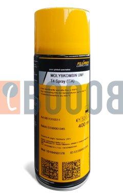 KLUBER MOLYBKOMBIN UMF T4 SPRAY BOMBOLETTA DA 400/ML