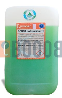 KIMICAR ROBOT AUTOLUCIDANTE TANICA DA 25/KG