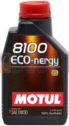 MOTUL 8100 ECO-NERGY 0W30 FLACONE DA 1/LT