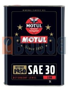 MOTUL CLASSIC OIL SAE 30 FLACONE DA 2/LT