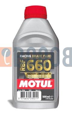 MOTUL RACING BRAKE FLUID 660 FLACONE DA 500/ML
