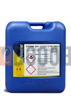 XTREME 8001 C3 ECO SYNT 5W30 TANICA DA 20/LT