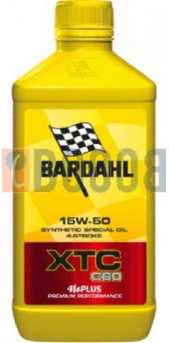 BARDAHL XTC C60 15W50 MOTO FLACONE DA 1/LT