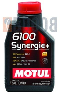 MOTUL 6100 SYNERGIE+ 10W40 FLACONE DA 1/LT