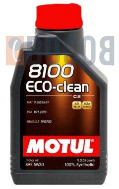 MOTUL 8100 ECO-CLEAN 5W30 FLACONE DA 1/LT