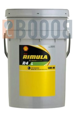 SHELL RIMULA R4 L 15W40 TANICA DA 20/LT