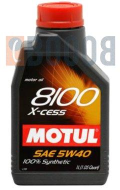 MOTUL 8100 X-CESS 5W40 FLACONE DA 1/LT