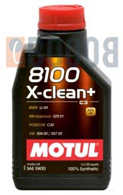 MOTUL 8100 X-CLEAN PLUS 5W30 FLACONE DA 1/LT