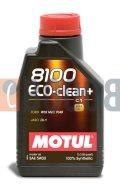 MOTUL 8100 ECO-CLEAN+ 5W30 FLACONE DA 1/LT