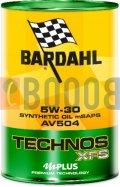 BARDAHL TECHNOS XFS AV504 5W30 FLACONE DA 1/LT