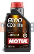 MOTUL 8100 ECO-LITE 0W20 FLACONE DA 1/LT