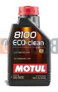 MOTUL 8100 ECO-CLEAN 0W30 FLACONE DA 1/LT