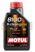 MOTUL 8100 X-CLEAN GEN2 5W40 FLACONE DA 1/LT