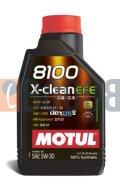 MOTUL 8100 X-CLEAN EFE 5W30 FLACONE DA 1/LT