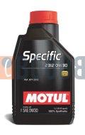 MOTUL SPECIFIC 2312 0W30 FLACONE DA 1/LT
