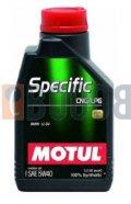 MOTUL SPECIFIC CNG/LPG 5W40 FLACONE DA 1/LT