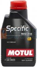 MOTUL SPECIFIC RBS0-2AE 0W20 FLACONE DA 1/LT