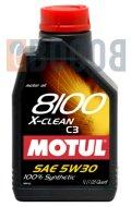 MOTUL 8100 X-CLEAN 5W30 FLACONE DA 1/LT