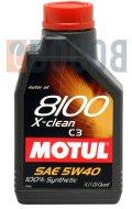 MOTUL 8100 X-CLEAN 5W40 FLACONE DA 1/LT